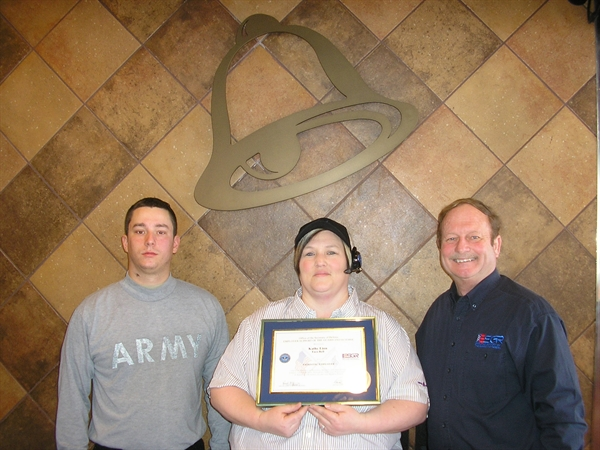 Taco Bell store manager honored by Department of Defense for ...